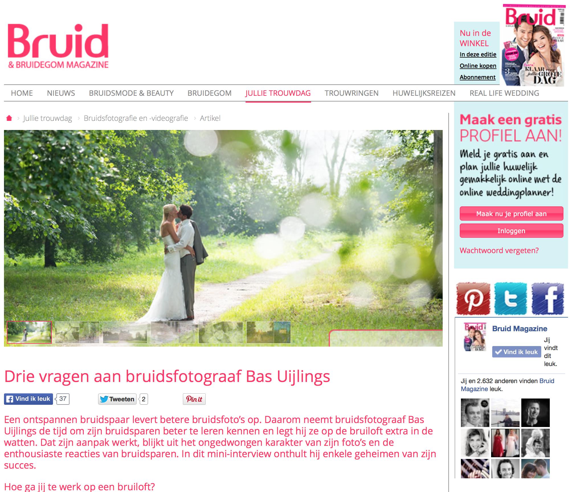 Publicatie Bruid en Bruidegom