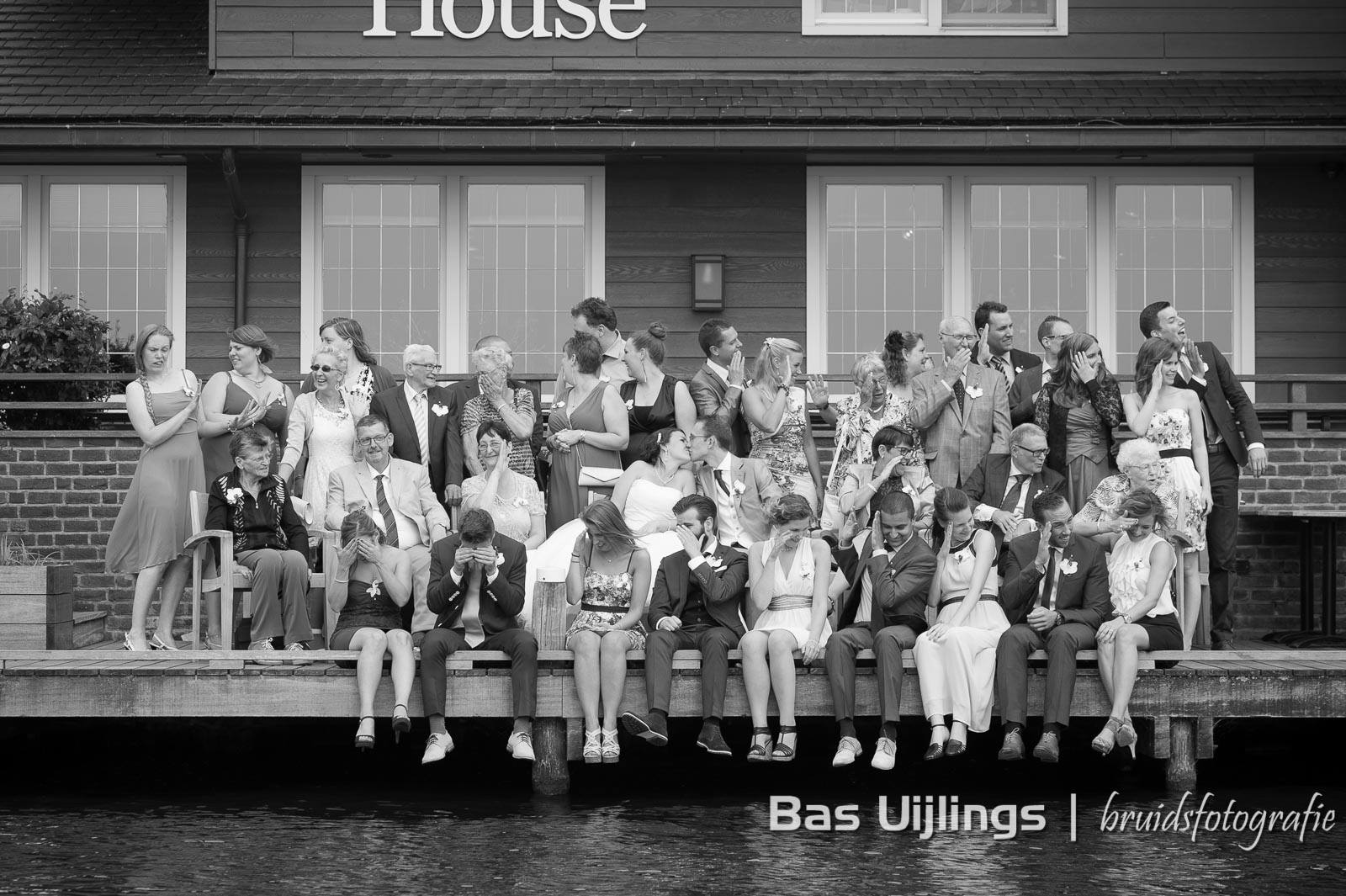Bruidsfotografie Almere bij The BoatHouse