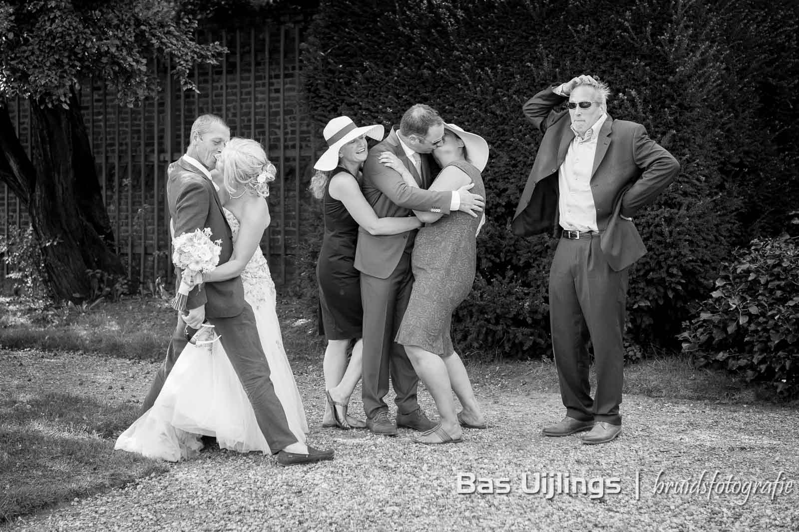Groepsportret bruiloft