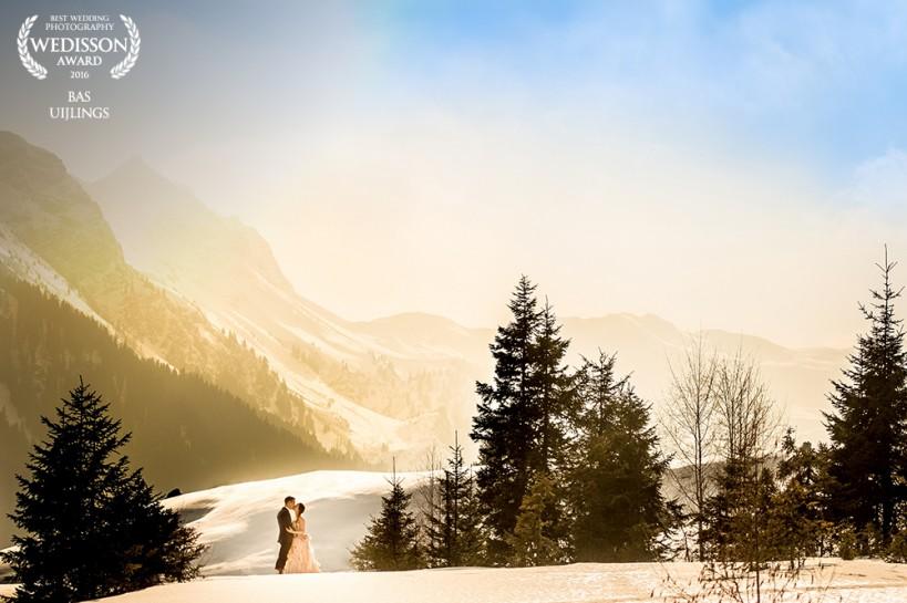 winter wedding photography austria destination