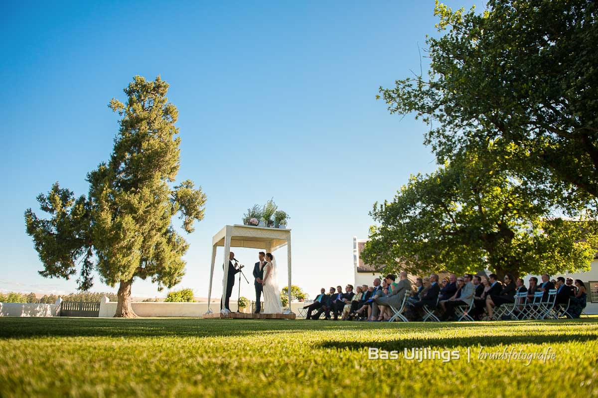 Trouwceremonie in Zuid Afrika