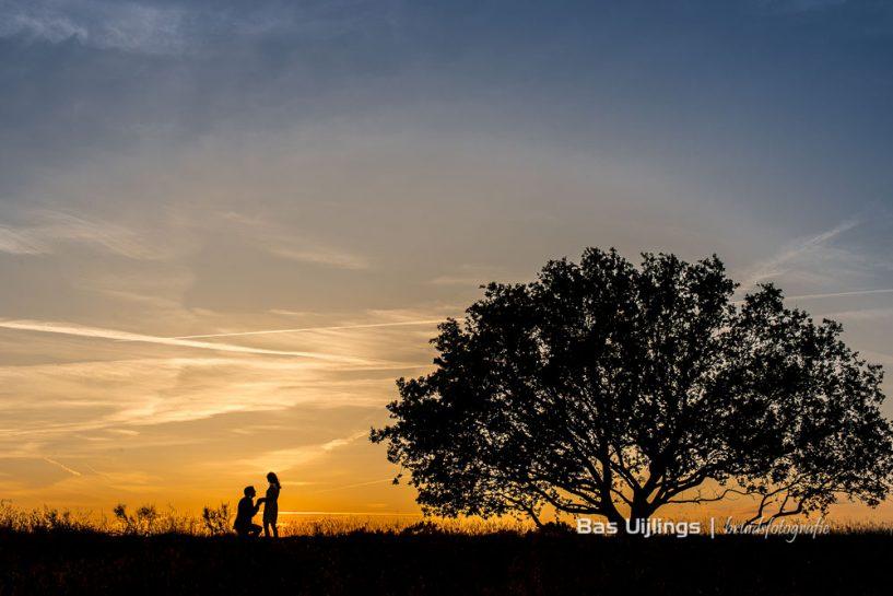 Loveshoot verloving aanzoek