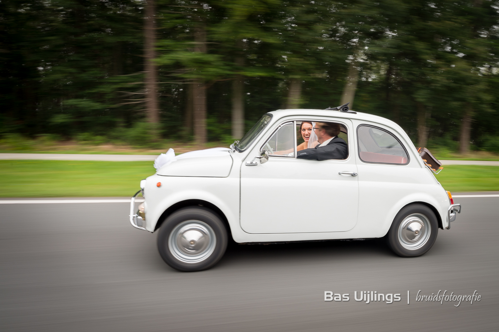 Fiat 500 trouwauto
