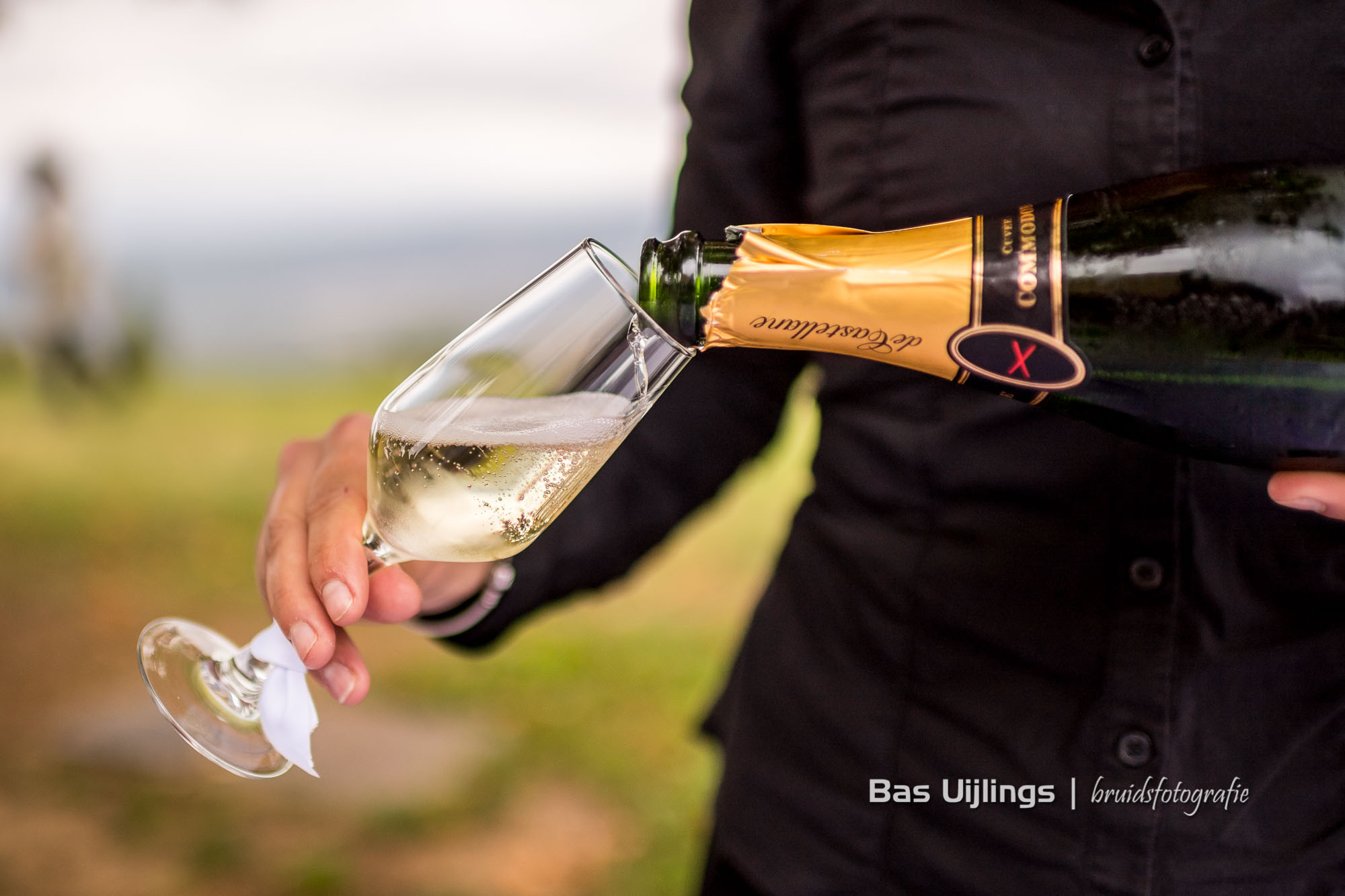 Champagne bruiloft Frankrijk
