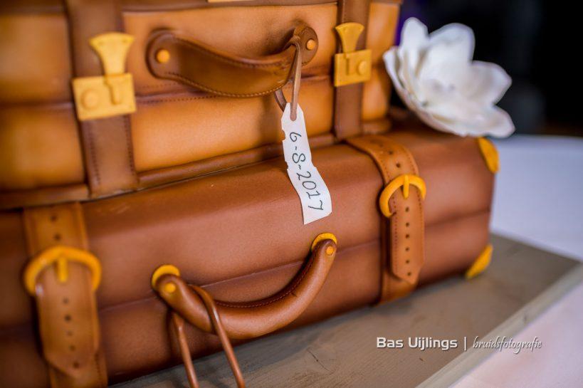 bruidstaart koffer