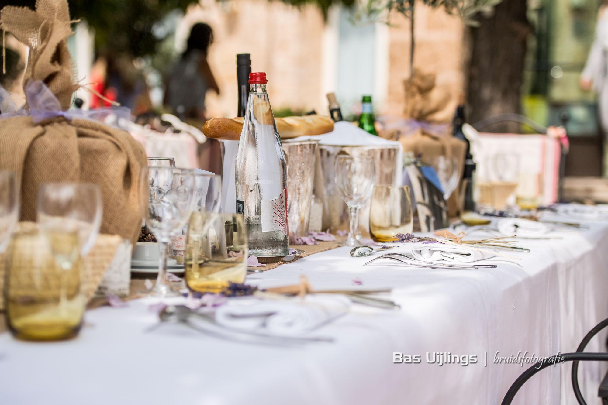 Styling dinertafel huwelijk