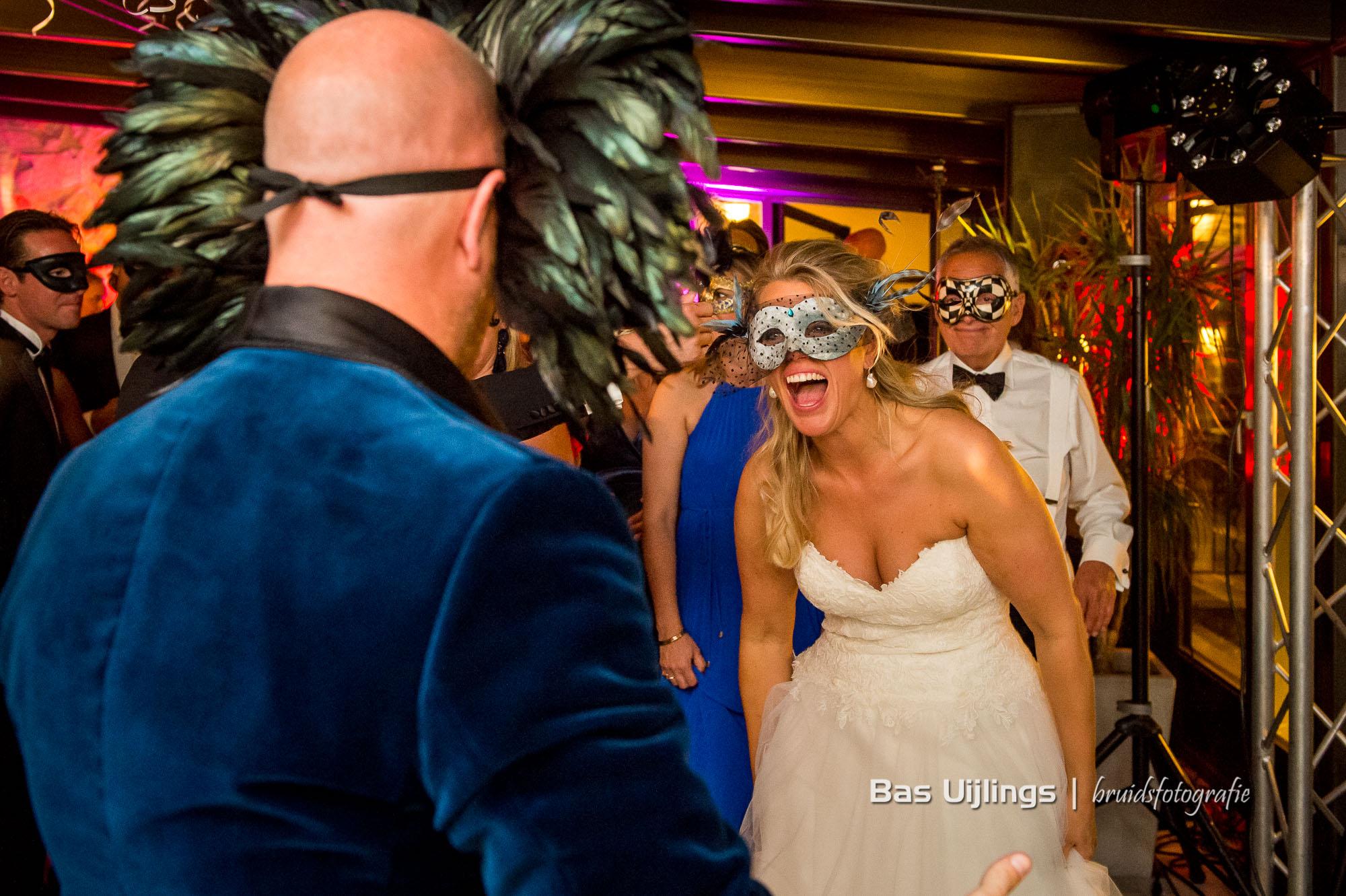 bruid in gala