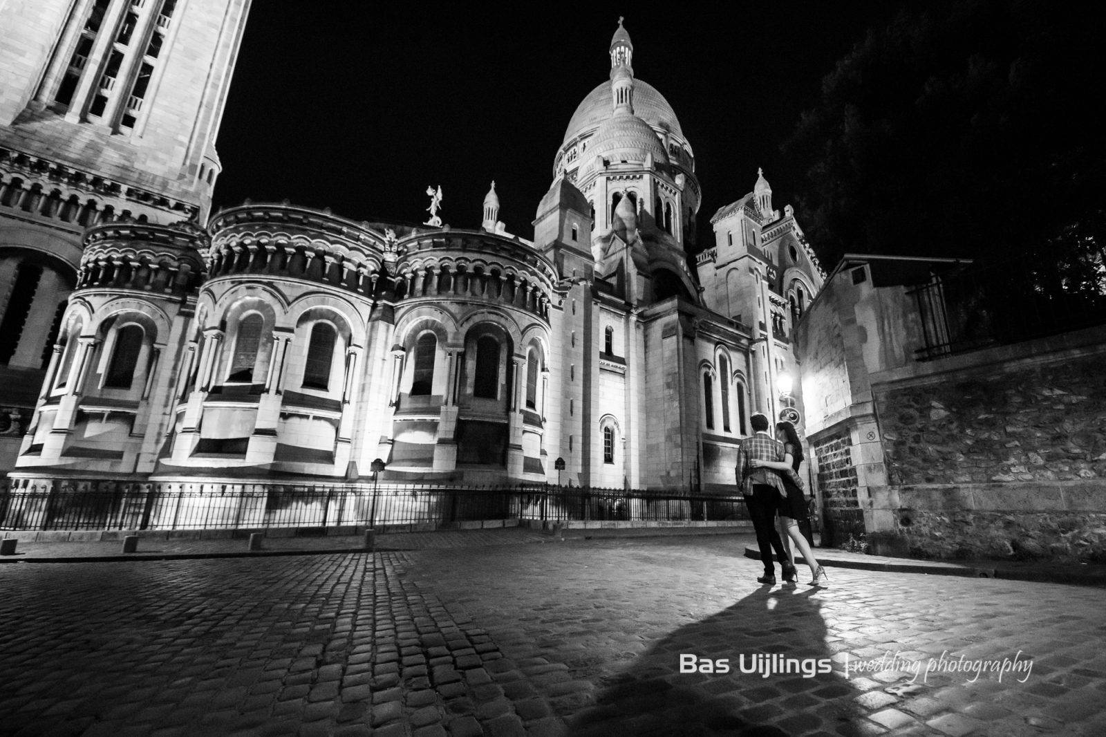 Fotoshoot Montmartre avond