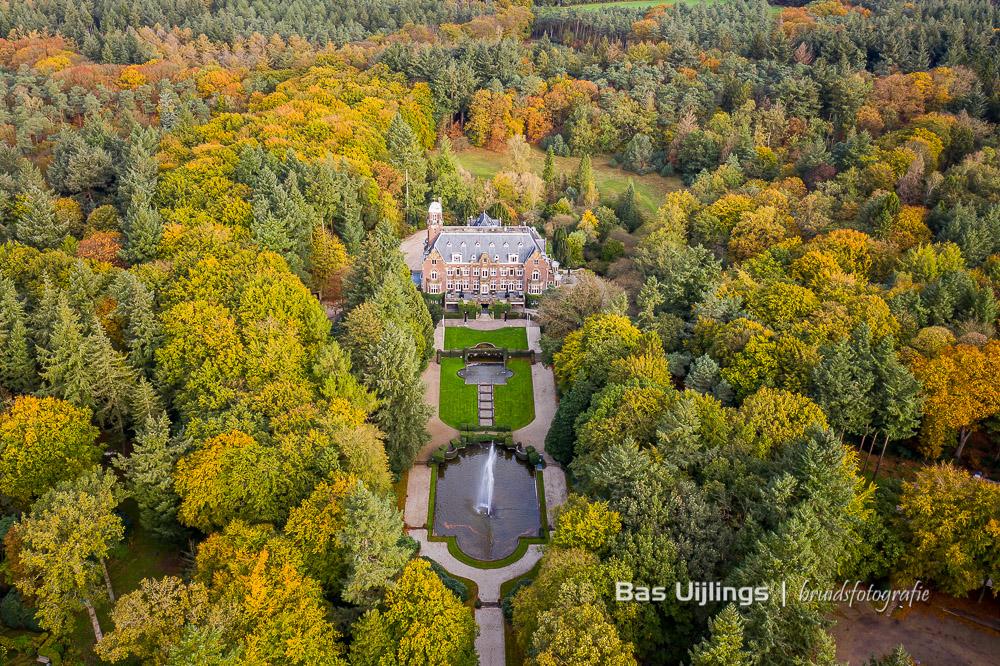 dronefoto Hooge Vuursche in Baarn