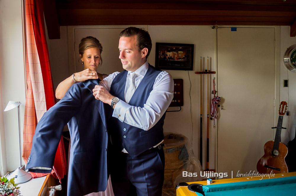 voorbereidingen bruidegom