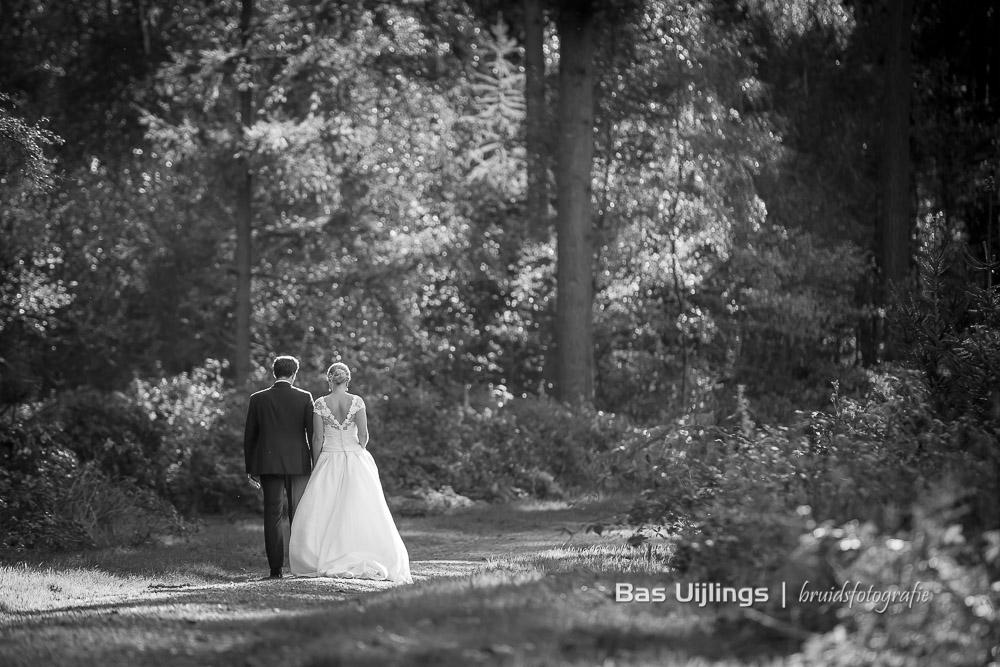 bruidspaar herfstbruiloft