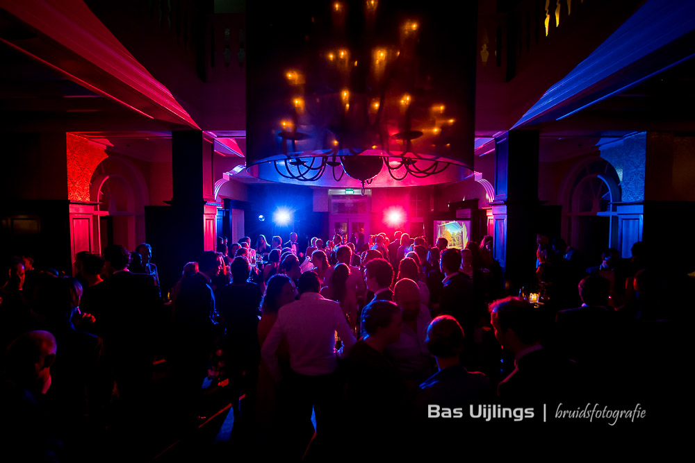 feest bruiloft Hooge Vuursche in Baarn