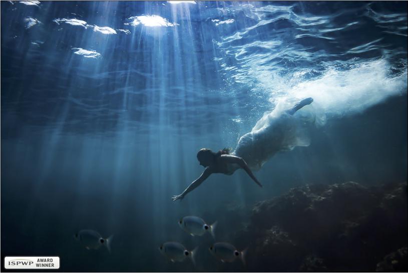 ISPWP Spring 2020 award winner bruidsfoto onderwater