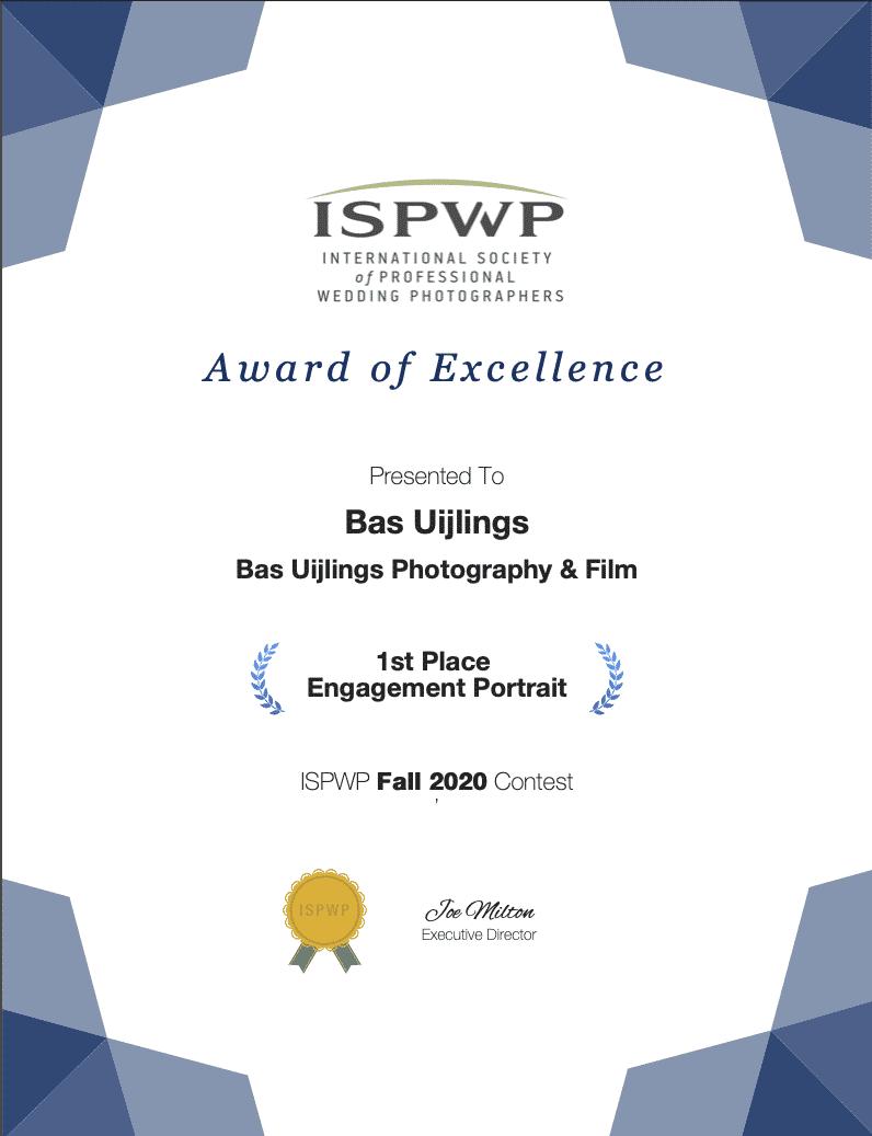 Winnaar ISPWP Award 2020