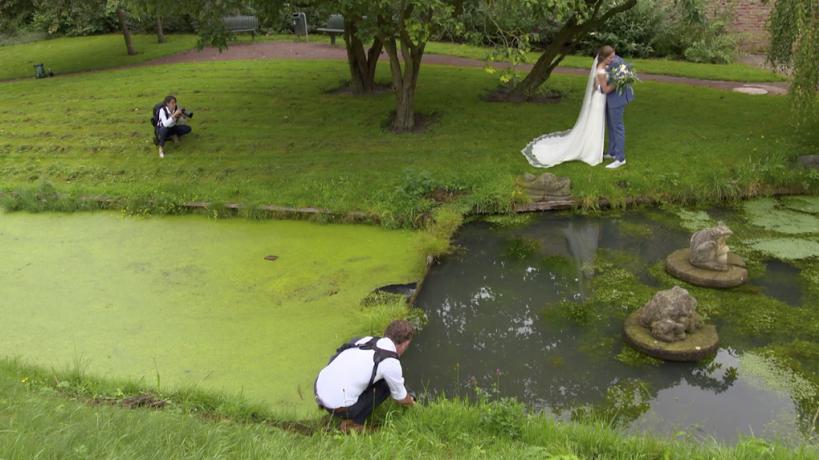 bruidsfotografie met minimaal twee fotografen NPO