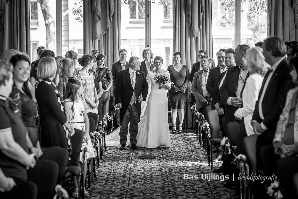 Vader en bruid Amstel Hotel