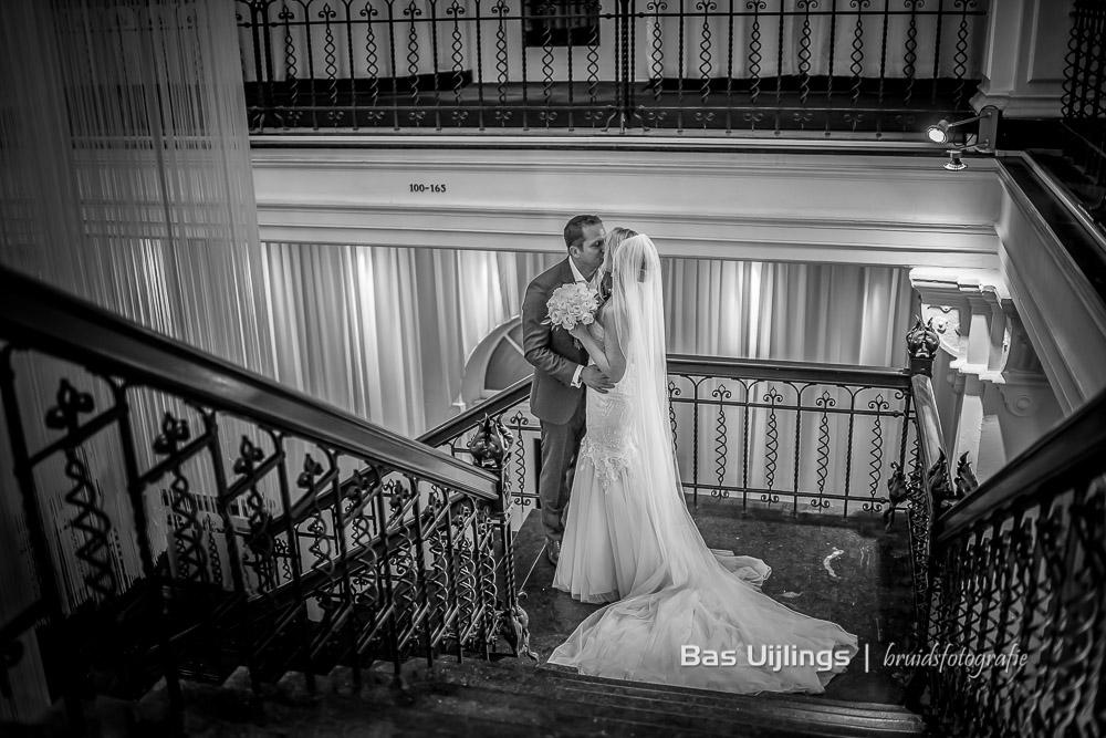 eerste ontmoeting bruidspaar Hotel Arena in Amsterdam