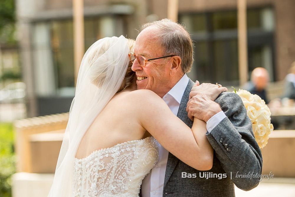 Bruid en haar vader