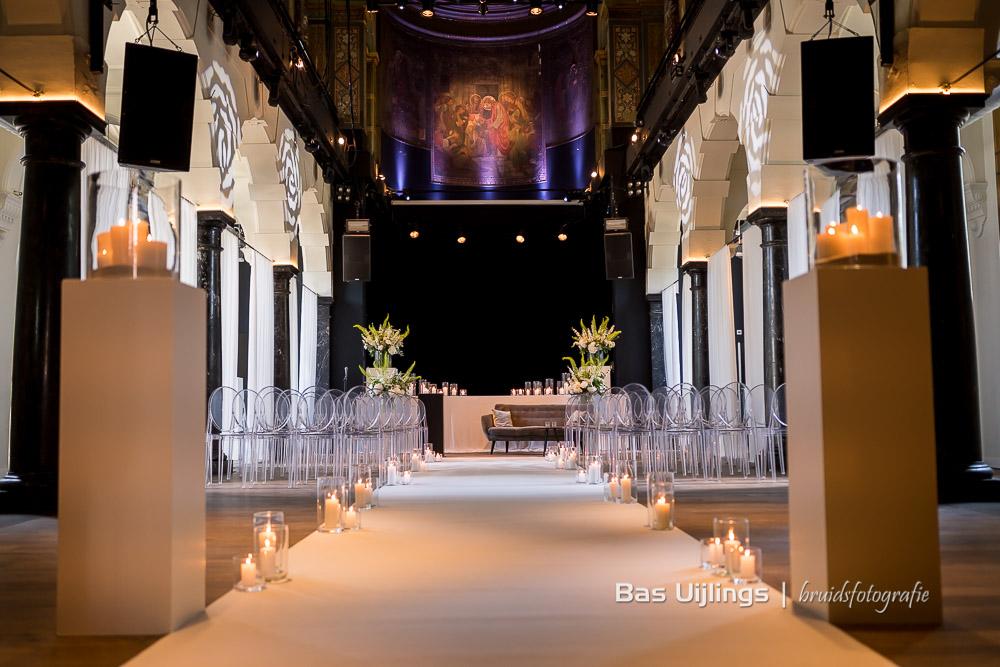 decoratie huwelijk in Hotel Arena Amsterdam