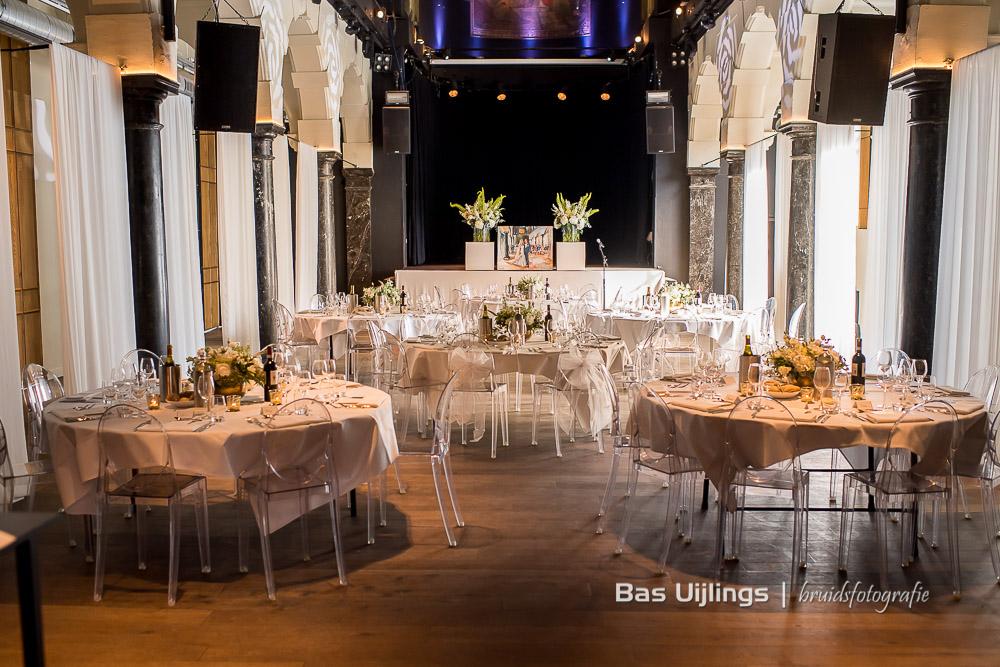dinerzaal bruiloft Amsterdam