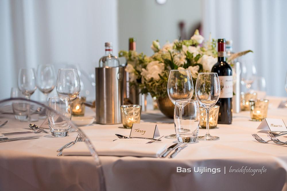 gedekte tafel diner bruiloft