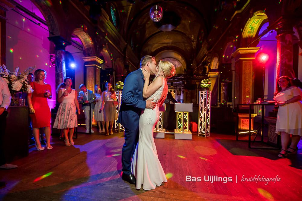 Openingsdans bruidspaar Hotel Arena in Amsterdam