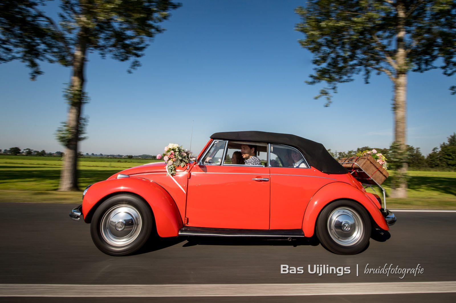 Trouwauto Volkswagen Kever Cabrio