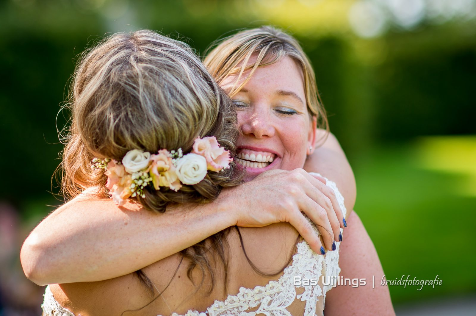 Bruid felicitatie
