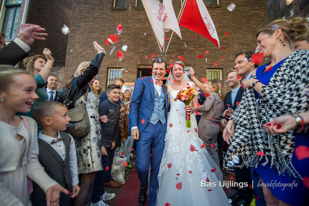 trouwen in Utrecht bij de Dom