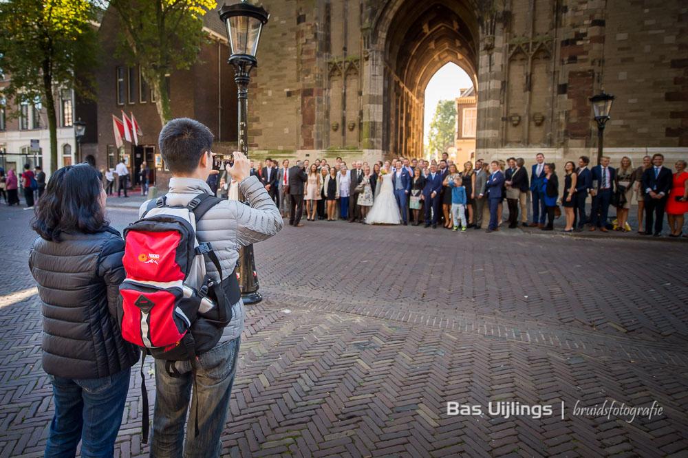 De Dom in Utrecht groepsfoto bruiloft