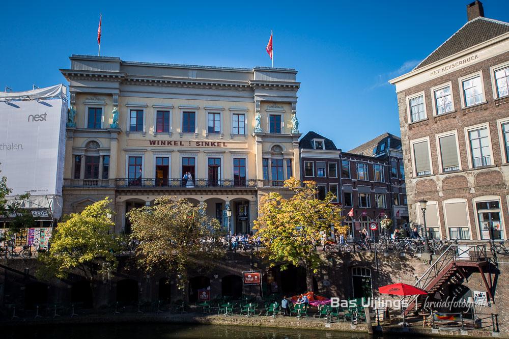 Bruidsfotografie Utrecht in de Winkel van Sinkel