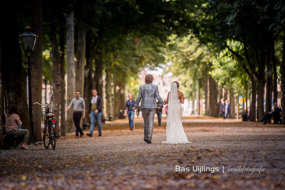 Bruidspaar in Den Haag
