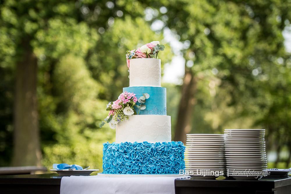 Bruidstaart bij Landgoed Te Werve in Rijswijk