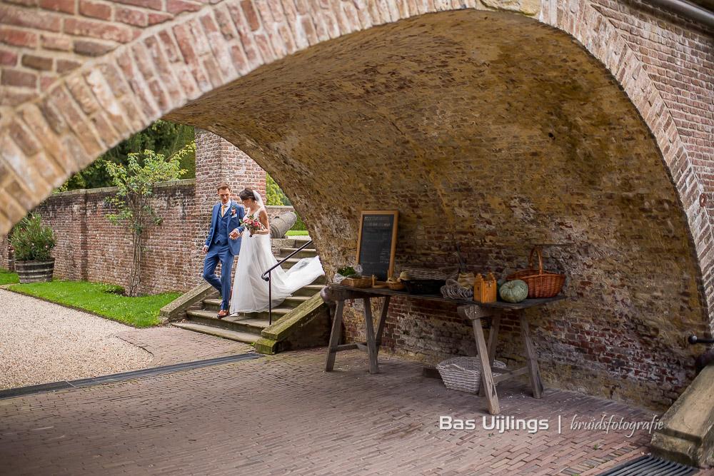 bruidspaar kasteel en buitenplaats Amerongen