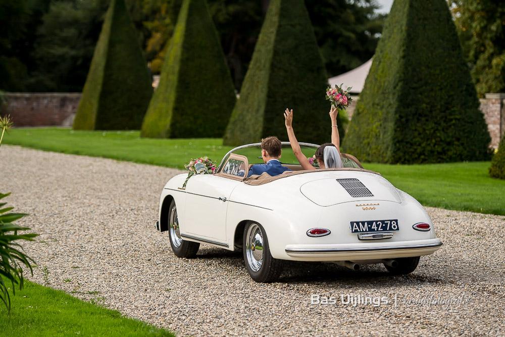 Porsche 356 Speedster cabrio trouwauto