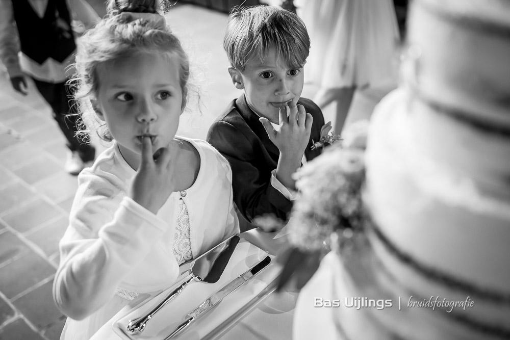 bruidskinderen Trouwen bij het Kasteel van Buitenplaats Amerongen