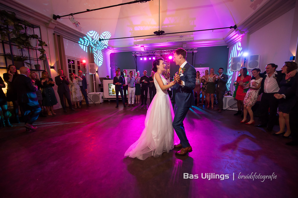 Openingsdans bruidspaar Trouwen bij het Kasteel van Buitenplaats Amerongen