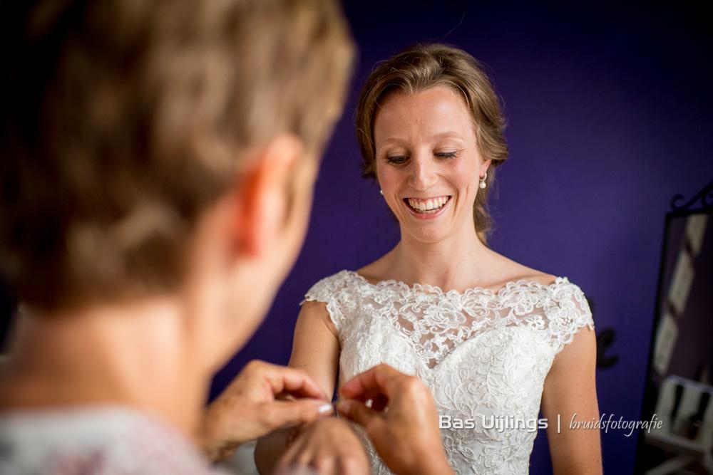 voorbereidingen bruid trouwen