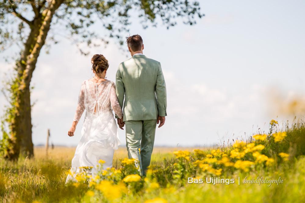 trouwen in 2021 in Zeeland, bruidspaar fotoshoot