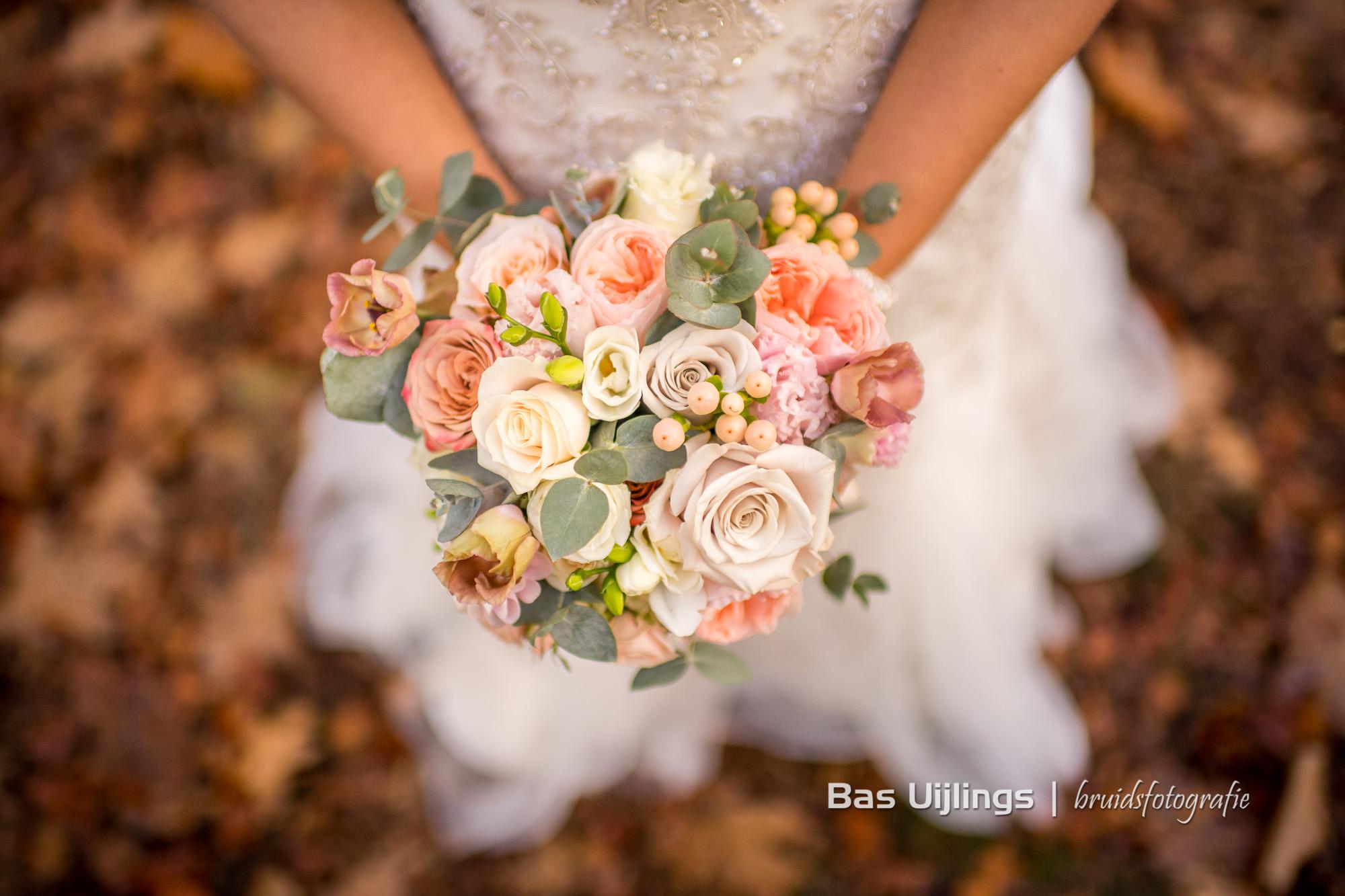 trouwfotograaf trouwboeket