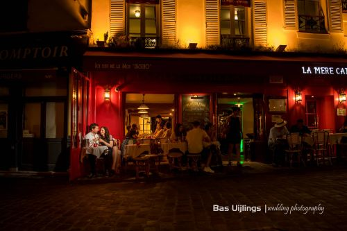 Bas Uijlings wedding photography - Loveshoot in Paris
